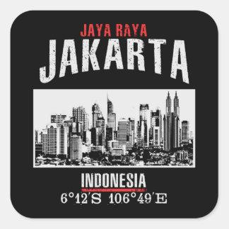 Sticker Carré Jakarta