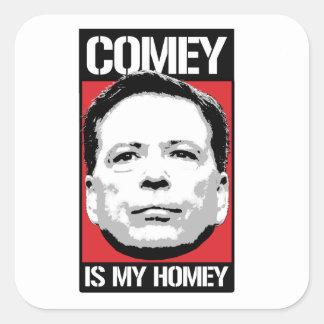 Sticker Carré James Comey - Comey est mon intime - -