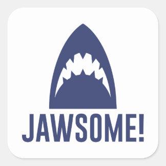 Sticker Carré Jawsome