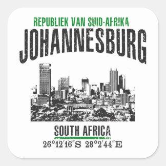Sticker Carré Johannesburg
