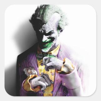 Sticker Carré Joker de la ville   de Batman Arkham