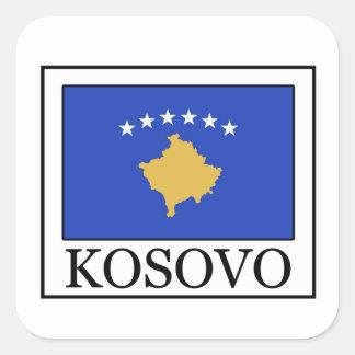 Sticker Carré Kosovo