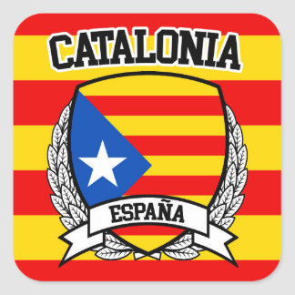 Sticker Carré La Catalogne