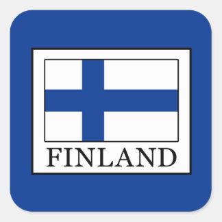 Sticker Carré La Finlande