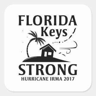 Sticker Carré La Floride verrouille fort