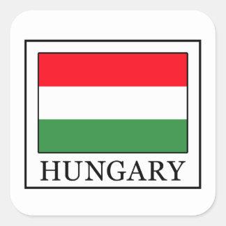 Sticker Carré La Hongrie