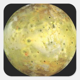 Sticker Carré La lune E/S de Jupiter