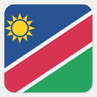 Sticker Carré La Namibie