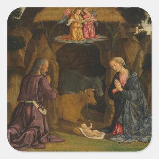 Sticker Carré La nativité, 1480s