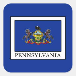 Sticker Carré La Pennsylvanie