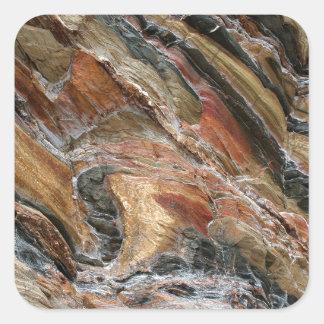 Sticker Carré La roche tourbillonne en nature
