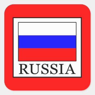 Sticker Carré La Russie