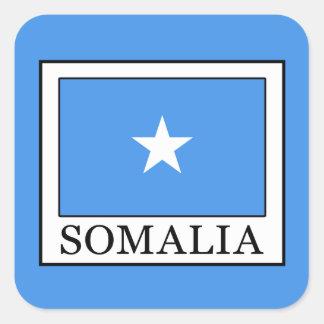 Sticker Carré La Somalie