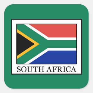 Sticker Carré L'Afrique du Sud