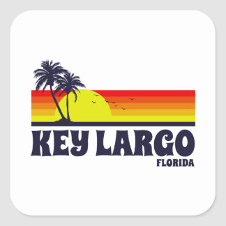 Sticker Carré Largo principal la Floride