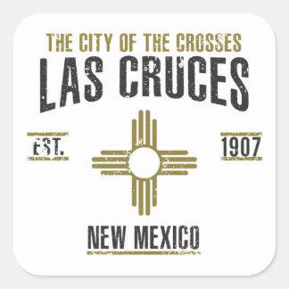 Sticker Carré Las Cruces