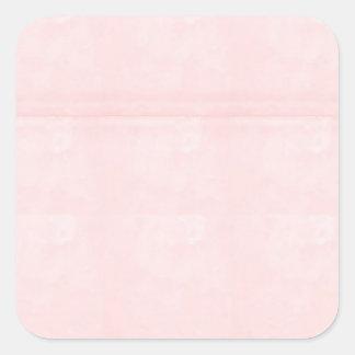 Sticker Carré Le blanc de modèle ajoutent votre cristal élégant
