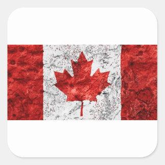 Sticker Carré le Canada