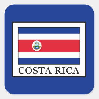 Sticker Carré Le Costa Rica