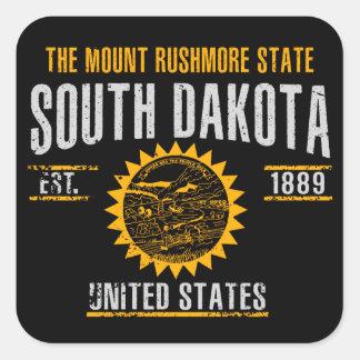 Sticker Carré Le Dakota du Sud