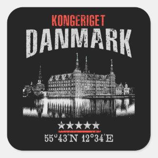 Sticker Carré Le Danemark