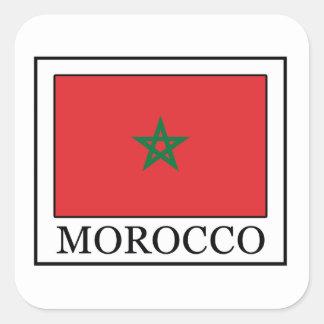 Sticker Carré Le Maroc