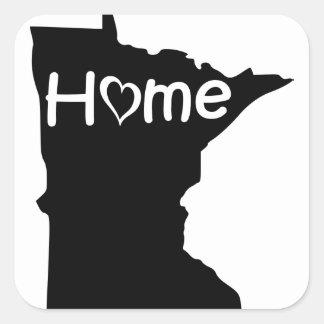 Sticker Carré le Minnesota