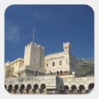 Sticker Carré Le Monaco, Cote d'Azur, le palais du prince