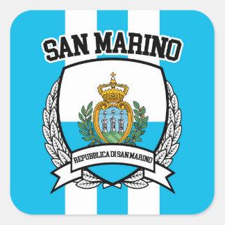 Sticker Carré Le Saint-Marin