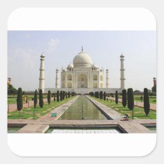 Sticker Carré Le Taj Mahal