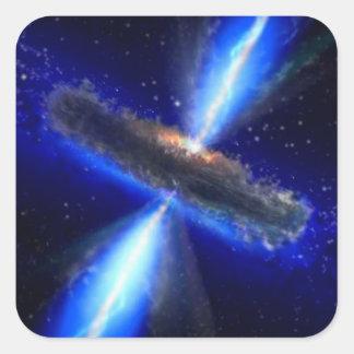 Sticker Carré Le trou noir de NASAs suce tout l'Ae01f