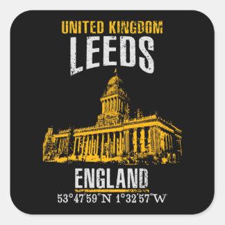 Sticker Carré Leeds