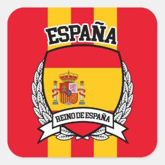 Sticker Carré L'Espagne