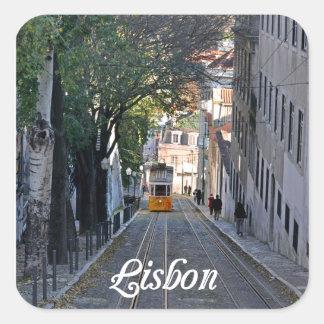 Sticker Carré Lisbonne