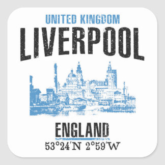 Sticker Carré Liverpool