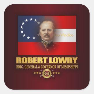 Sticker Carré Lowry DV