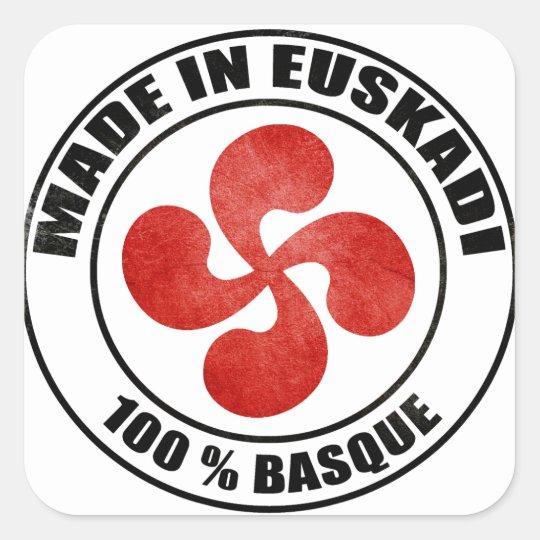 Sticker Carré made in Euskadi Bayonne