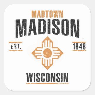 Sticker Carré Madison