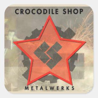 Sticker Carré MAGASIN Metalwerks de CROC
