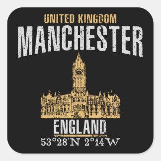 Sticker Carré Manchester
