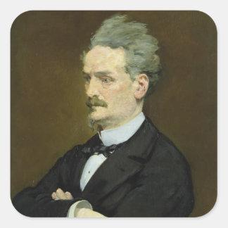 Sticker Carré Manet | le journaliste Henri Rochefort, 1881