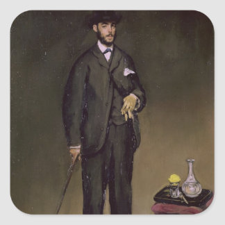 Sticker Carré Manet | Theodore Duret