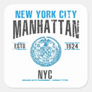 Sticker Carré Manhattan