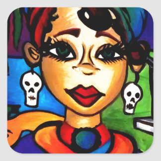 Sticker Carré Marie Laveau
