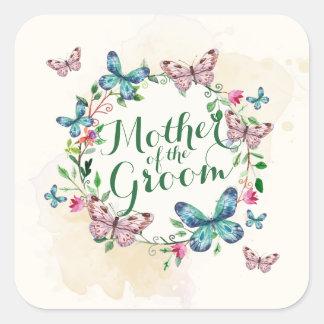 Sticker Carré Mère du joint d'autocollant de guirlande de