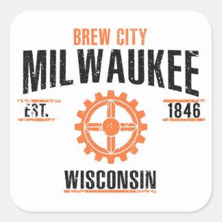 Sticker Carré Milwaukee