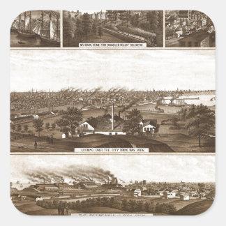 Sticker Carré Milwaukee 1882