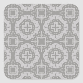 Sticker Carré motif 8773Grey