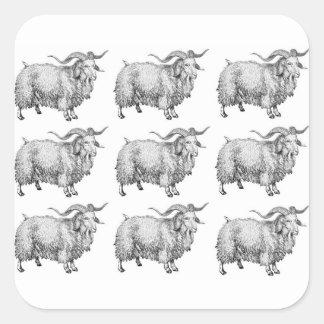 Sticker Carré motif de la vieille RAM