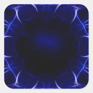 Sticker Carré motif pourpre de laser